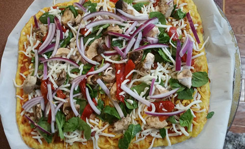 Cauliflower Pizza Crust - Bariatric Women